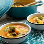 Minestrone with Pesto
