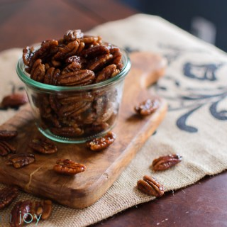 Spiced Pecans - Kitchen Joy