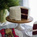 Merry Christmas + Red Velvet Cake