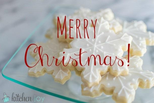 Merry Christmas + Red Velvet Cake - Kitchen Joy