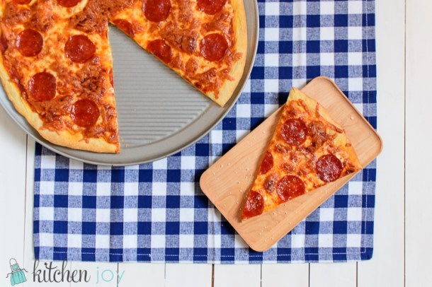 Crispy Thin Crust Pizza