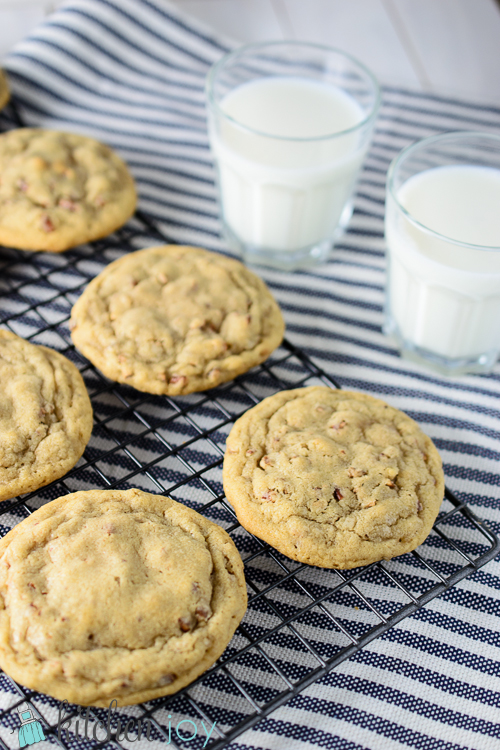 Butter Pecan Cookies - Kitchen Joy