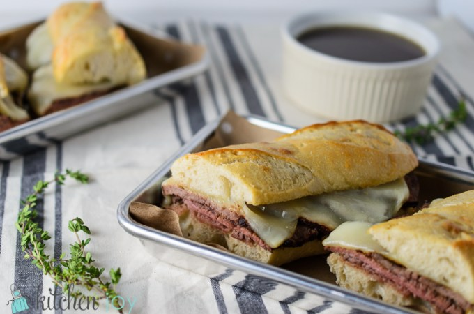French Dip Sandwiches with Au Jus - Kitchen Joy