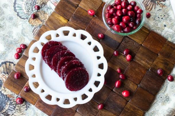 Homemade Jellied Cranberry Sauce - Kitchen Joy®