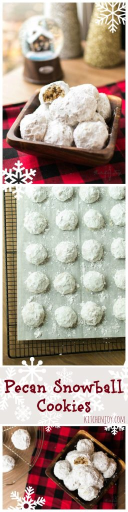 Pecan Snowball Cookies - Kitchen Joy®