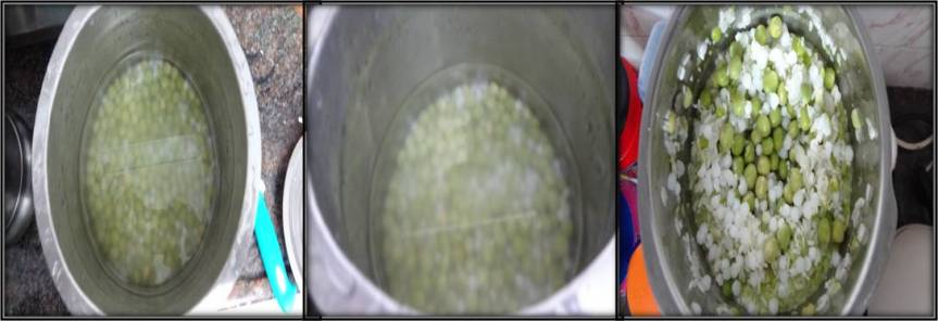 Green peas dosa-1