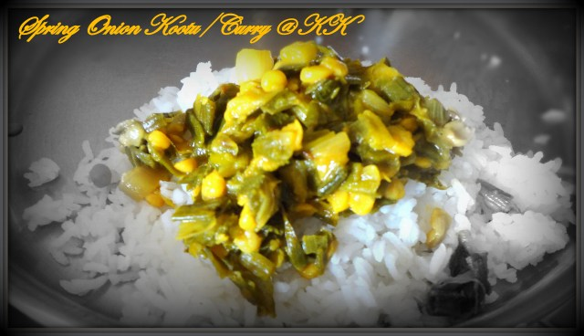 Spring onion curry or kootu2