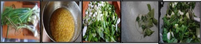 Spring onion kootu