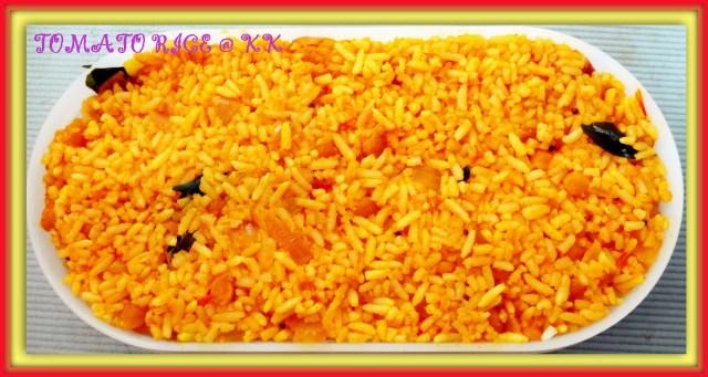 toamto rice