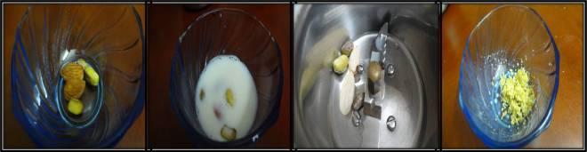 Almond Pista Milk