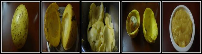 how to make butter fruit or avocado puree