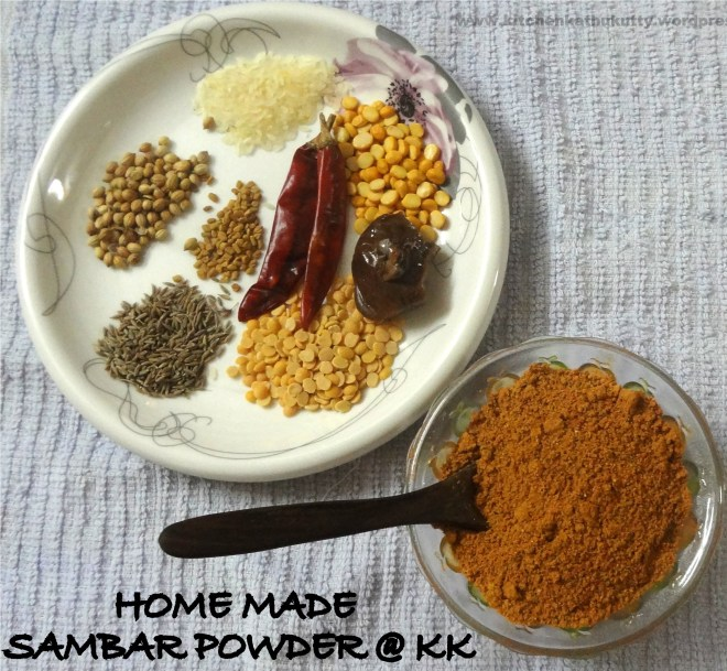 home made sambhar powder