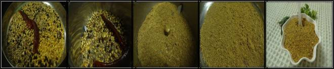 Home made rasam powder