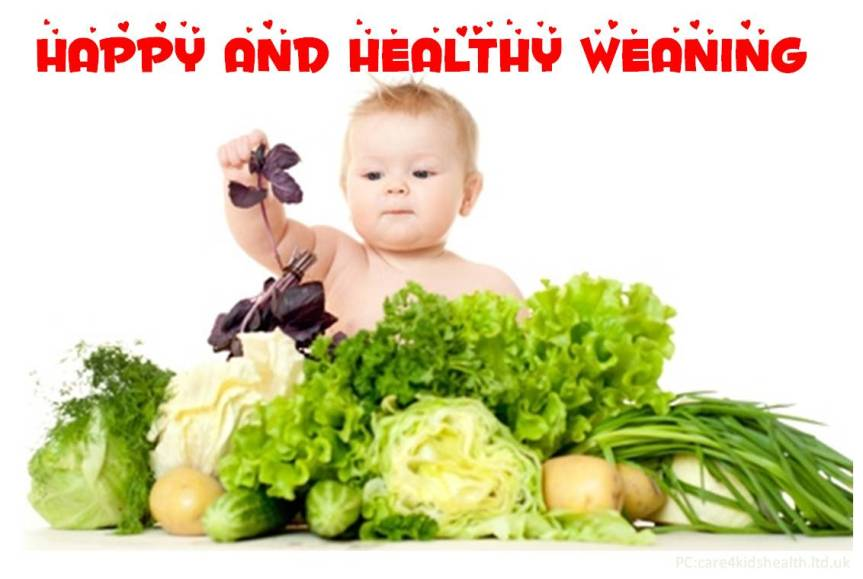 happy and healthy weaning wishes