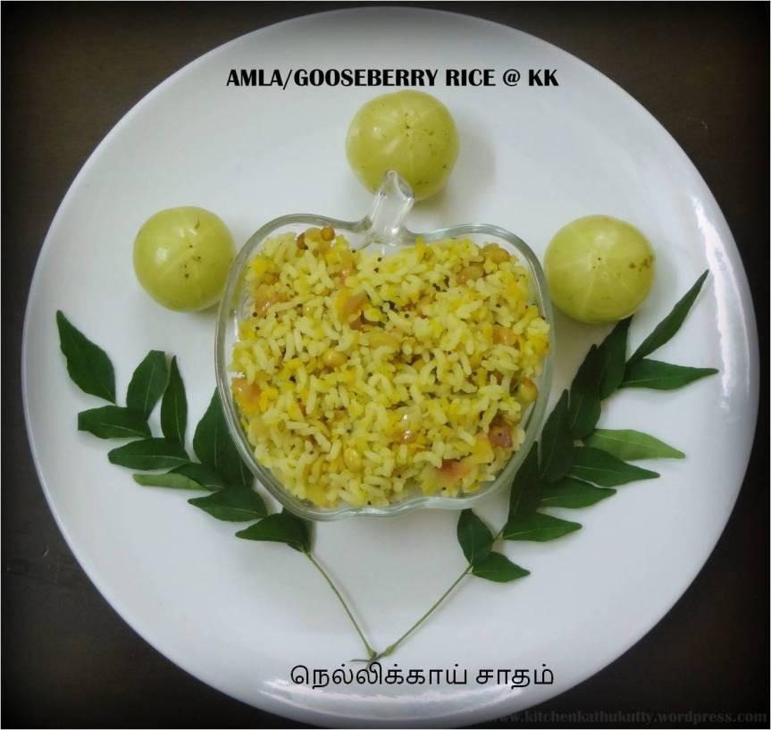 AMLA/GOOSE BERRY RICE|NELLIKKAI SADHAM