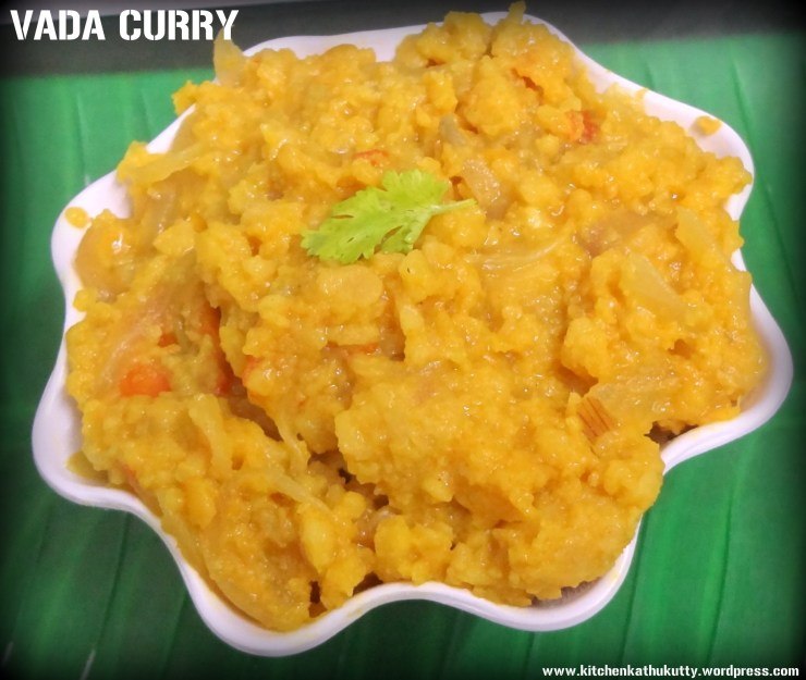 vada curry
