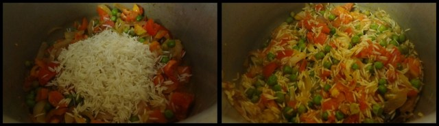 tomato peas pulao