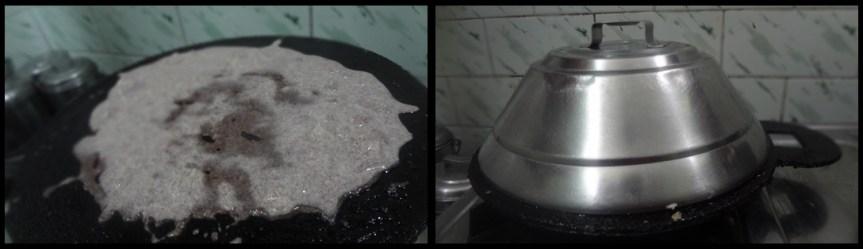 instant ragi wheat dosa