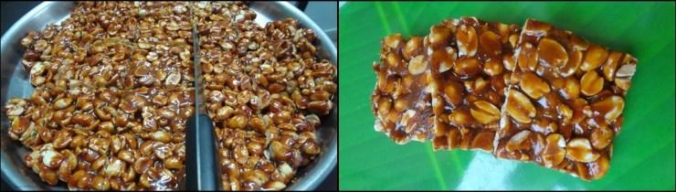 kadalai mittai/peanut chikki