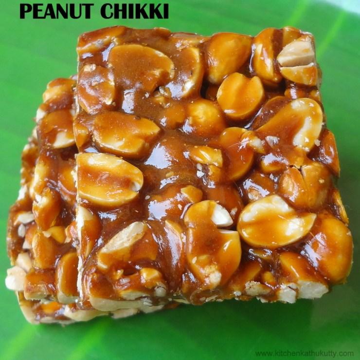 peanut chikki /kadalai mittai