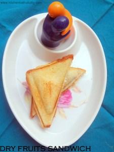 dry fruit sandwich