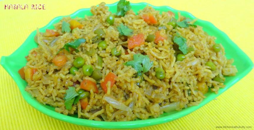 Masala Rice|Masala Bath