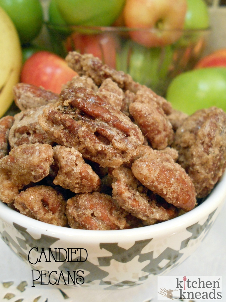 Candied Pecans Kitchen Kneads