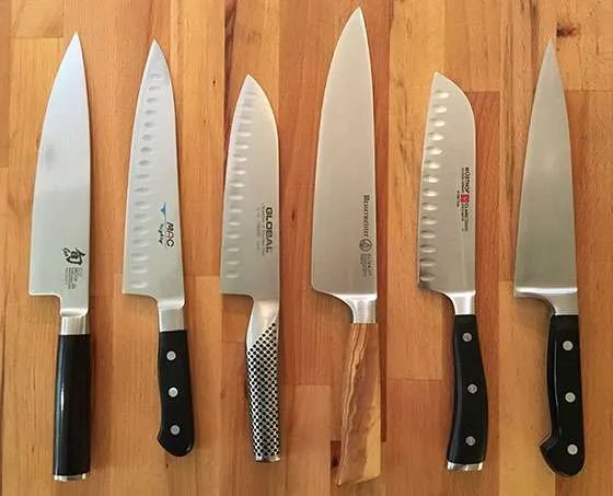 rating kitchen knives cabinets for less reviews best chef six recommendations kitchenknifeguru w olivia
