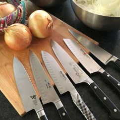 Professional Kitchen Knives Fabric For Curtains Best Chef Six Recommendations Kitchenknifeguru Onion Testing