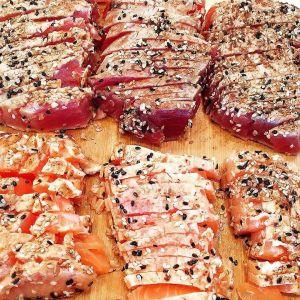 Tuna & Salmon Sashimi