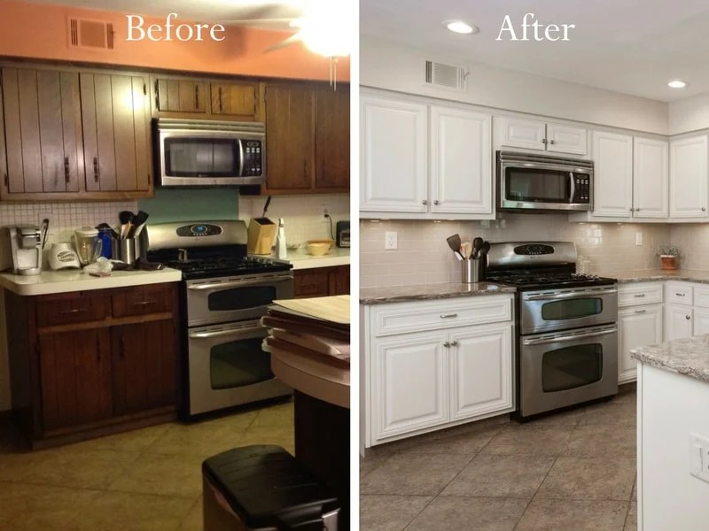 Kitchen Cabinet Refacing  Cabinet Resurfacing