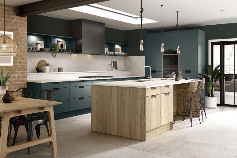 BELLA SEGRETO MATT KOMBU GREEN HALIFAX NATURAL OAK 1