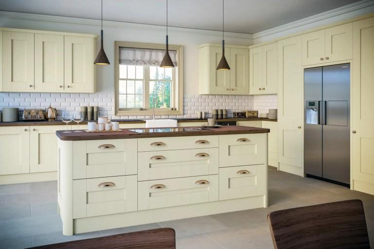 Oakgrain Cream Shaker Kitchen scaled