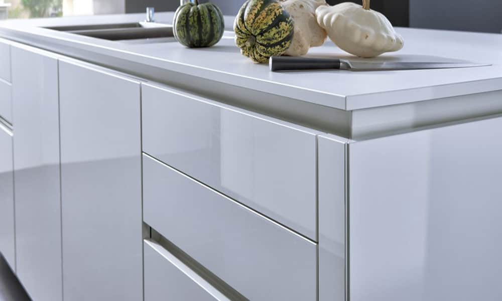 kitchen handles navy cabinets recessed in your mart