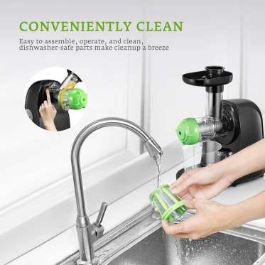 Aicok Juicer Easy Cleaning