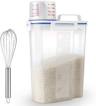 Uppetly Rice Container