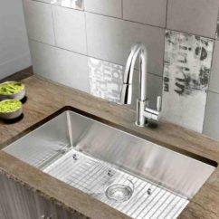 Menards Kitchen Sink Undermount Stainless Steel High End Sinks Big Cabinets Atlanta Drop Leaf Table Chairs Blanco S Revolutionary New Quatrus R15