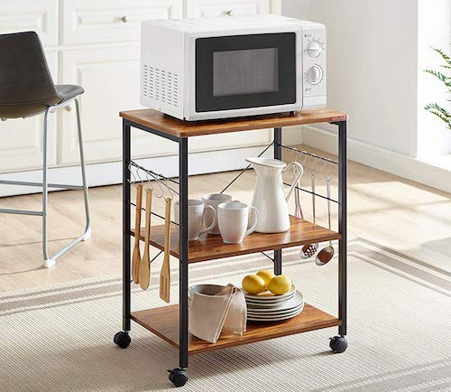 10 best microwave cart with storage for