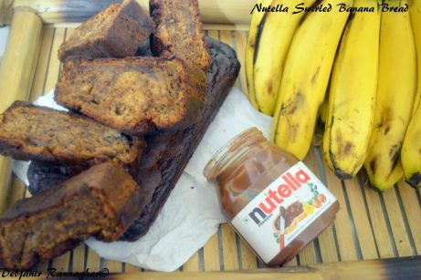 Nutella Swirled Banana Bread 4