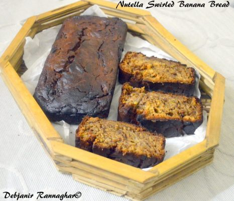 Nutella Swirled Banana Bread 6