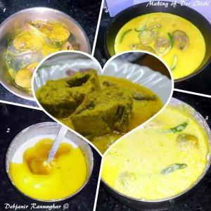 %making of Doi Ilish step by stpe