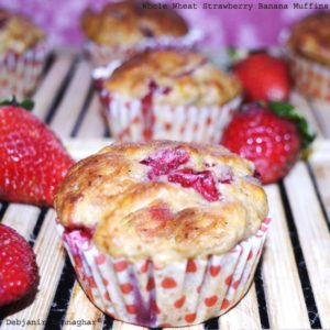 %Strawberry Banana Muffins Recipe Step by Step