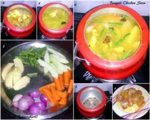 %How to make Bengali Chicken Stew step by step