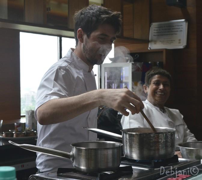 Vegan Food Workshop at Swissotel and Recipe of Quinoa Soup