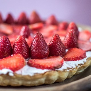 %Strawberry Tart