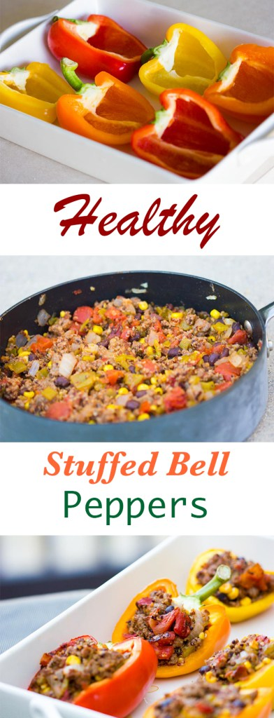 Healthy Stuffed Bell Peppers Recipe