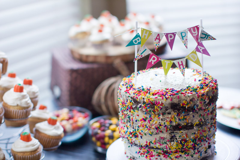 Tremendous Vegan Birthday Cake Kitchen Of Eatin Funny Birthday Cards Online Overcheapnameinfo