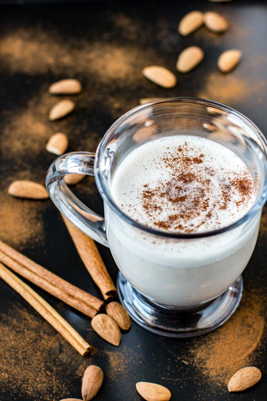 Warm Almond Milk + Extra Protein