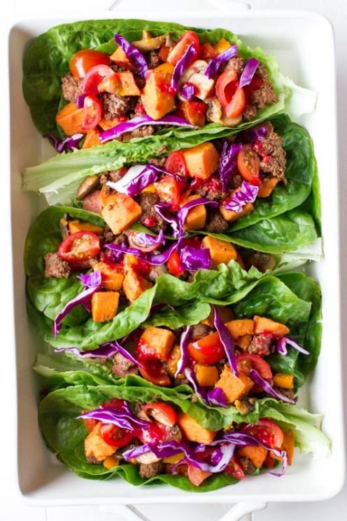 Paleo Lettuce Wraps-4