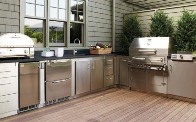 OUTDOOR KITCHEN PAST PRESENT AND FUTURE  Kitchen of